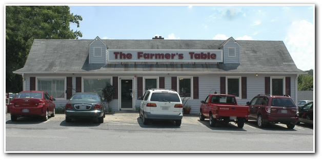 FARMER S TABLE MENU PAGE 1. The Farmer s Table   2001 S  Scales St   Reidsville  NC 336 342